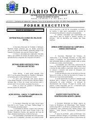 Diário Oficial nº 1.802 - 04 de novembro (Segunda-feira) - 1820Kb