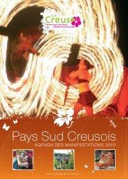 AGENDA DES MANIFESTATIONS 2010 - Pays sud creusois