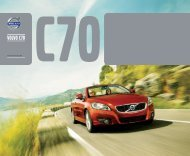 Klik her for at downloade Volvo C70 brochure som pdf