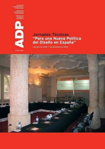 Para una Nueva Política del Diseño en España - ADP