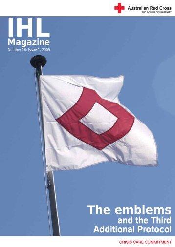 The emblems - Australian Red Cross