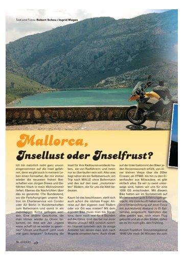 Mallorca, - Kultourbikes.de
