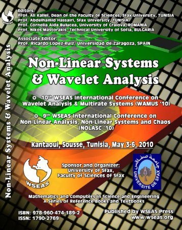 NON-LINEAR SYSTEMS and WAVELET ANALYSIS 10th WSEAS ...