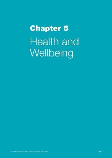 Chapter 5: Goal setting - Australian Red Cross