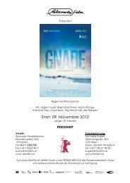 Start: 09. November 2012 - Thimfilm