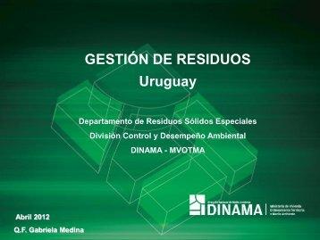 Presentación Q.F. Gabriela Medina