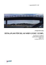 detaljplan för del av håby-lycke 1:53 mfl - Munkedals kommun