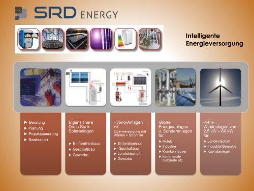 Intelligente Energieversorgung