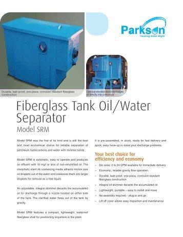Fiberglass Tank Oil/Water Separator