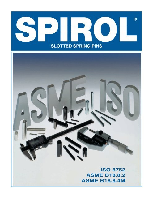 Slotted spring pins - Electronic Fasteners Inc