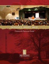 Community Resource Guide - Methodist University
