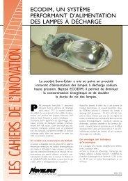 Télécharger le dossier (format PDF) - Technologies Propres