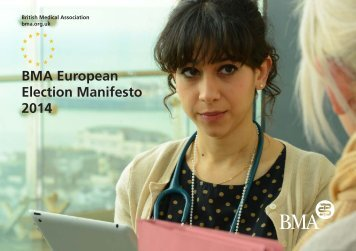 bma european election manifesto 2014