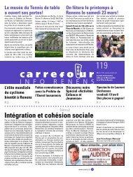 Intégration et cohésion sociale - Renens