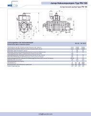 Jurop-Vakuumpumpen Typ PN 155