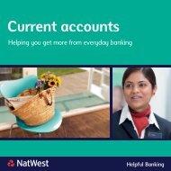 Current accounts - NatWest