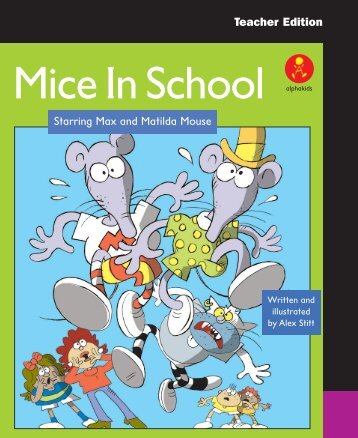 Mice In School alphakids