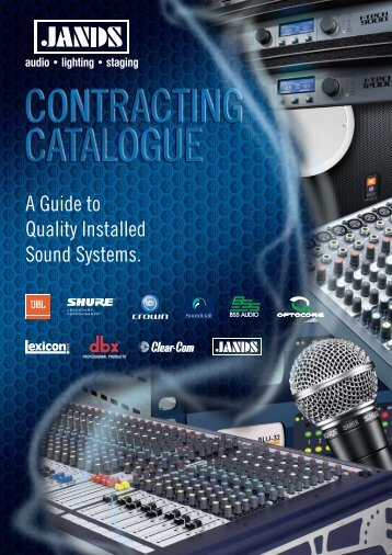 A Guide to Quality Installed Sound Systems. - Jands
