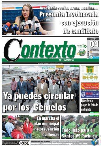 04/07/2013 - Contexto de Durango