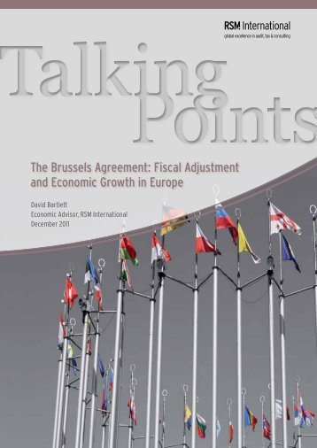 The Brussels Agreement: Fiscal Adjustment and ... - RSM International