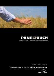 PanelTouch – Texturen für jeden Raum - HIAG Handel AG