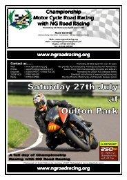 information pack - NG Road Racing