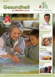 Märzausgabe 2011 als PDF lesen - Wacholder Apotheke