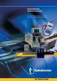 Radiodetection Pipeline Products The Pipeline Range - vivax.it