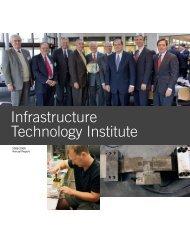 2008 - 2009 - Infrastructure Technology Institute (ITI) - Northwestern ...