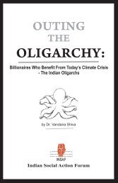 The Indian Oligarchs (PDF) - Countercurrents.org
