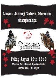 Schedule and Entry Form - Equestrian Victoria - Equestrian Australia