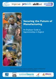 Securing the Future of Manufacturing - Proskills