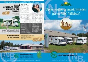 Oplev verden og mærk friheden fra en NBC Villabus!