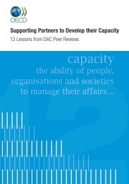 capacity - Organisation for Economic Co-operation and Development