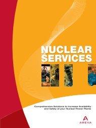 Nuclear Services - AREVA