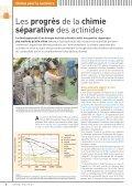Chimie pour le nucléaire - CEA - Page 3