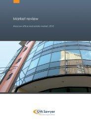 Office real estate market, 2010 - GVA Sawyer