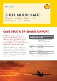Shell Bitumen - Brisbane Airport Case Study - Shell Multiphalte