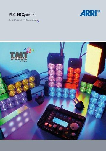 ARRI PAX LED Systeme PDF deutsch - Ultralite