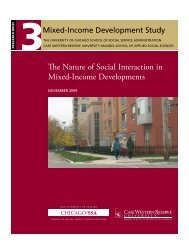 The Nature of Social Interaction in Mixed-Income Developments