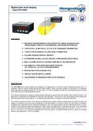 Data sheet - Hengesbach GmbH & Co. KG