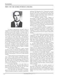 722 prof. univ. dr. george petrescu (1926-2010) - Clujul Medical ...
