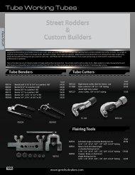 Tubing / Clips / Fasteners / Loom / Tube Working Tools