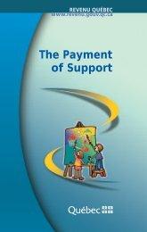 The Payment of Support - Bibliothèque et Archives nationales du ...
