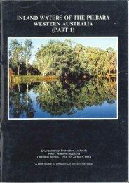 Inland Waters of the Pilbara, Western Australia - Environmental ...