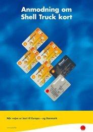 Anmodning om Shell Truck kort