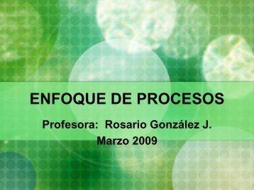 Enfoque de Procesos - Bligoo.com