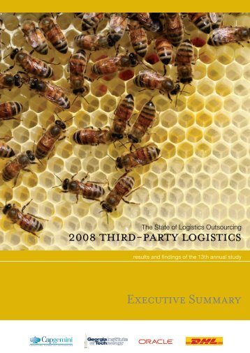 2008 THIRD-PARTy LoGIsTICs - The Logistics Institute