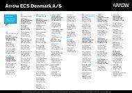 inside sales - Arrow ECS