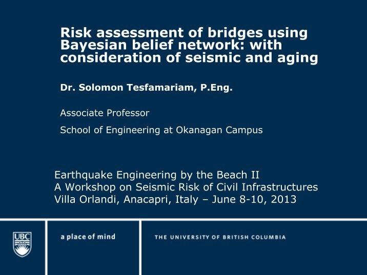 bridge risk assessment